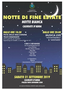 Notte di fine estate